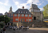 Market square in Idstein — Stock Photo