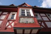 Casa con entramado de madera — Foto de Stock
