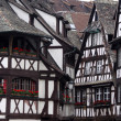 Black and white half-timbered houses — Stock Photo #3372665