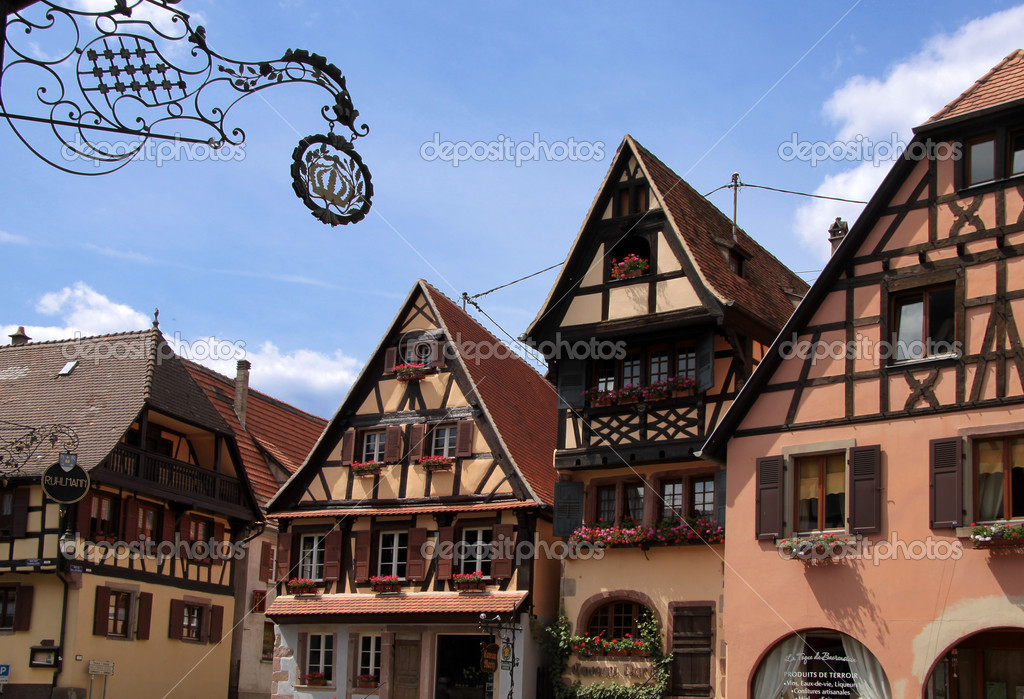 Half timbered houses stock photo cmfotoworks 3374711 for Half timbered house plans