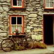 Royalty-Free Stock Photo: Old house with bicycle