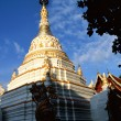 Pagoda of a Buddhistic temple - Stock Photo