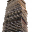 Stock Photo: Big Stack of cd