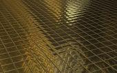 Golden mosaic — Stock Photo