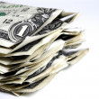 Banknotes U.S. — Stock Photo