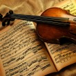 Vintage violin — Stock Photo #3440933
