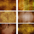 Collection of grunge background textures (more in my gallery) — Stock Photo