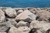 Sea and stones — Stock Photo