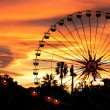 Carnival At Dusk - Stock Photo