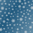 Snow flake — Stock Photo #3703404