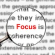 Stock Photo: Magnify Focus
