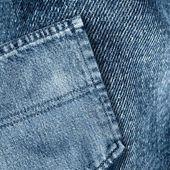 Bolsillo de los pantalones vaqueros — Foto de Stock