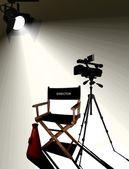 Director's Set — ストック写真