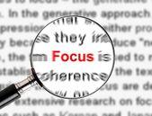 Magnify Focus — Stock Photo