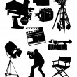 Royalty-Free Stock Vector Image: Film collection - vector