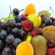 Heap of fruit — Stock Photo