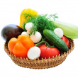Basket of vegetables — Zdjęcie stockowe #3311489
