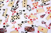 Jugando a las cartas 1 — Foto de Stock