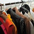 Foto de Stock  : Clothes in wardrobe