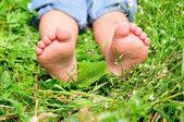 Child's feet — Stock Photo