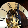 Stock Photo: Mechanical clock