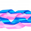 Pink and blue ribbons — Stock Photo #3464888