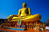 Golden Big Buddha — Stockfoto