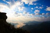Východ slunce na thajsko — Stock fotografie