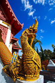King of Nagas in Mae Salong — Stock Photo