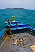 Thai harbour Boat — Stock Photo