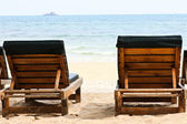 Rest Place on the Beach — Stock Photo
