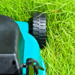Lawn mover (backside, uncut) — Stock Photo #3428961