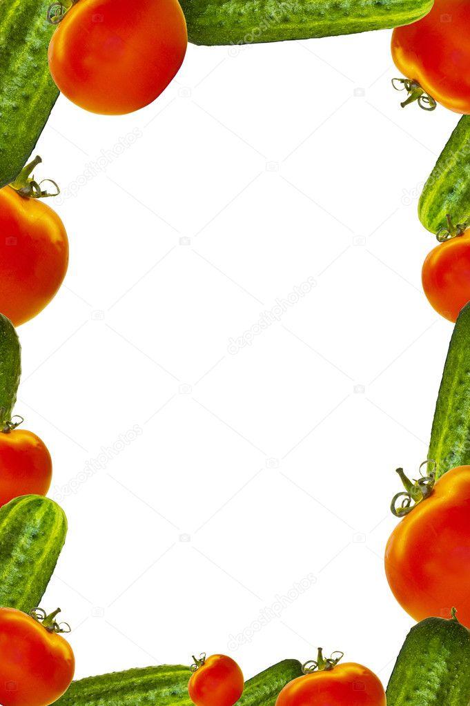 蔬菜一族幼儿园主题墙边框设计图片