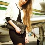 AirGirl — Stock Photo #3314420