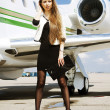Stock Photo: AirGirl
