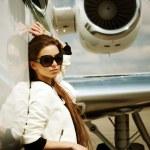 AirGirl — Stock Photo #3314491