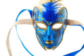 Blue and gold mask — Stock Photo