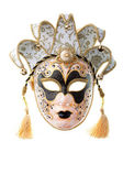 Black and gold mask — Stock Photo