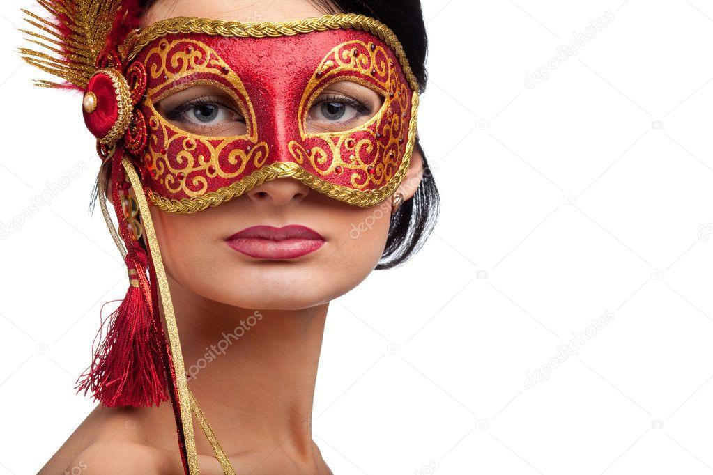 красивые картинки лицо в маске