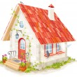 Royalty-Free Stock Vector Image: Little fairy house