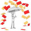 Royalty-Free Stock Photo: Rain Of Mail.
