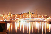 Moscow Kremlin at night — Stock Photo