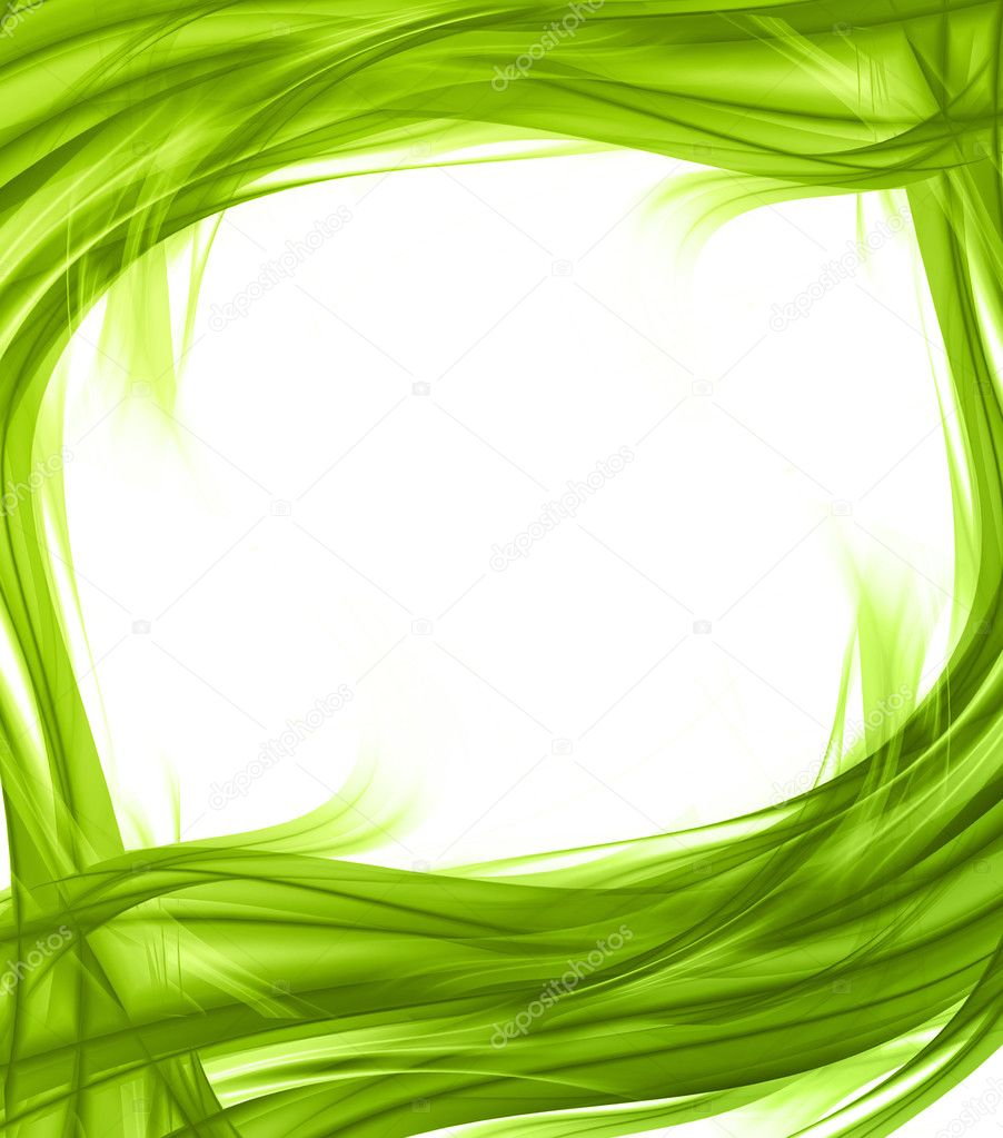 Elegant abstract frame - Stock Image