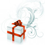 Gift celebrate — Stock Vector