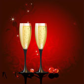 Champagne — Stock Vector