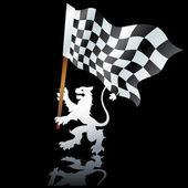 Flags formula — Stock Vector
