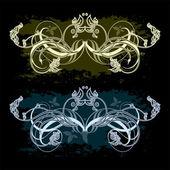 Elementi ornamentali — Vettoriale Stock