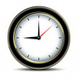 Royalty-Free Stock Vector Image: Clocks detailed icon