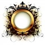 Ornamental shield — Stock Vector