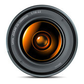 Lens — Stock Vector